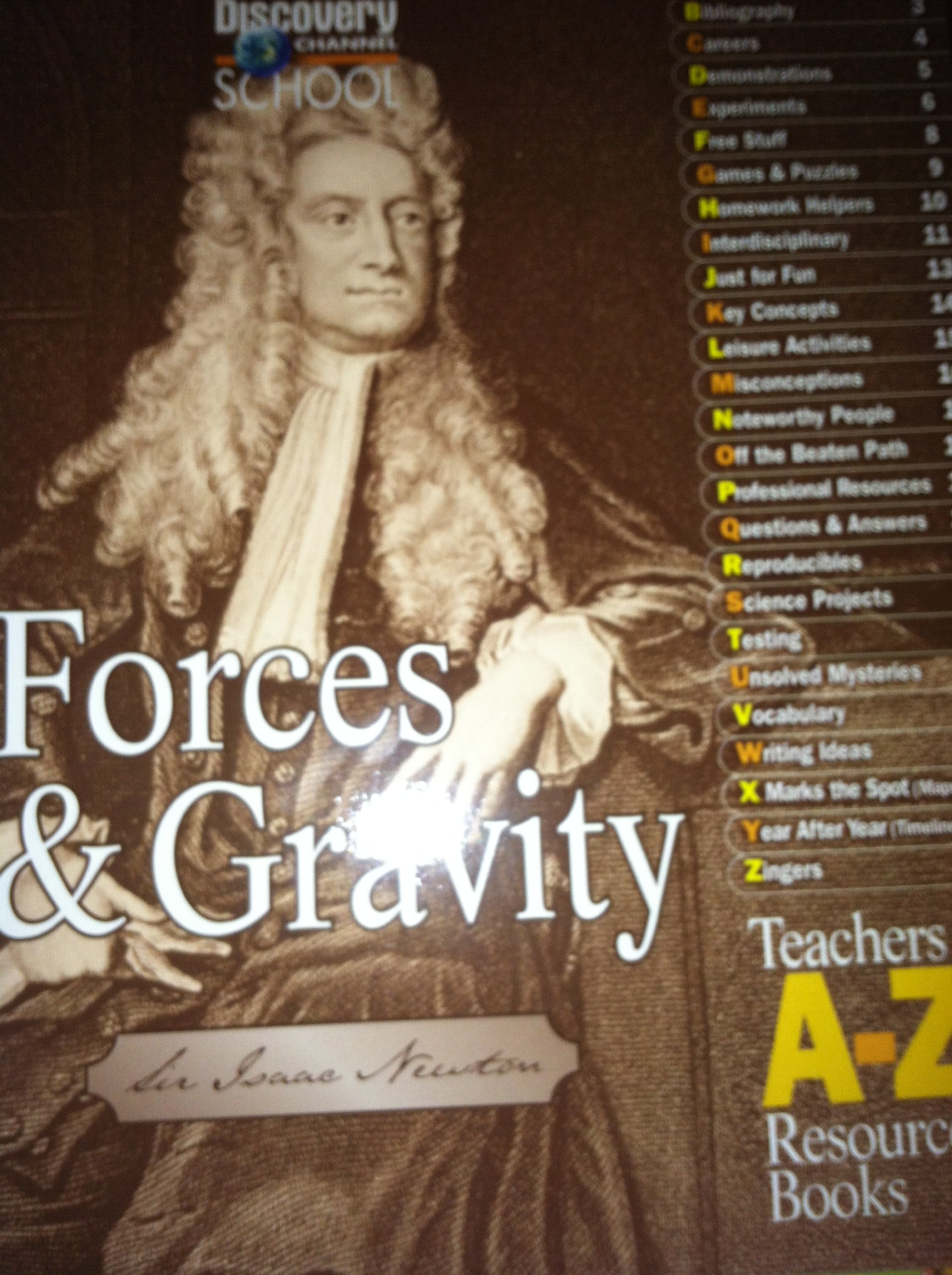 Read Online Forces and Gravity (Teachers A-Z Resources Books) pdf epub