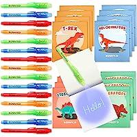 BONNYCO Bolígrafo Tinta Invisible y Libreta Dinosaurios Pack x16 Detalles Cumpleaños Niños, Regalos Cumpleaños Niños…