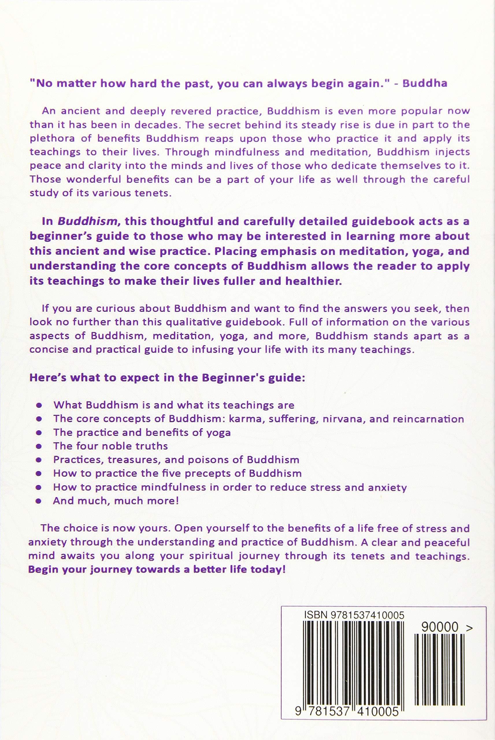 Amazon com: Buddhism: Beginner's Guide to Understanding