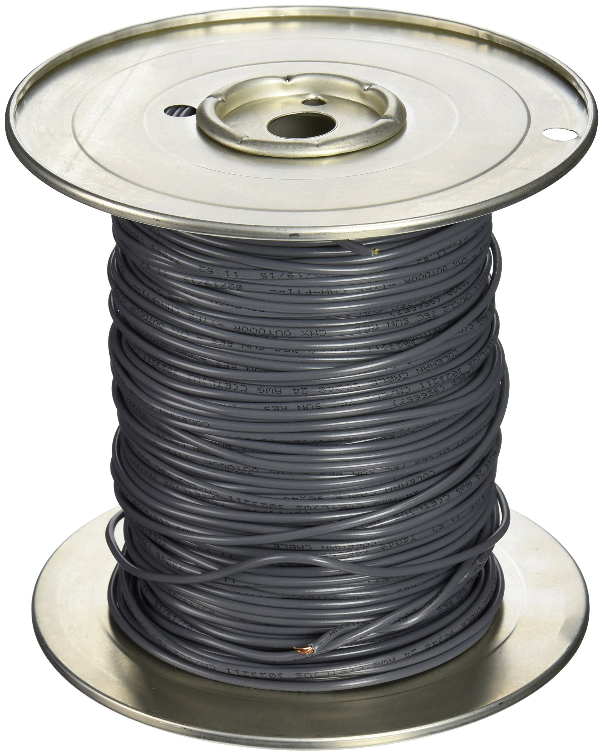 Woods 0345 24/4 Phone Wire, Direct Burial, 500-Feet