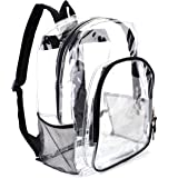 Heavy Duty Transparent Clear Backpack Stadium Approved Clear See Through Backpacks for School Stadium Travel