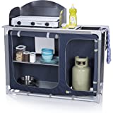 CAMPART Travel KI-0753 - Cocina de camping, color azul