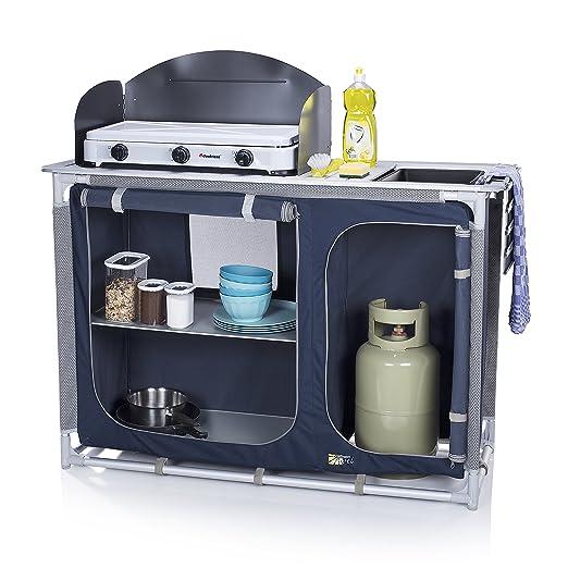 37 opinioni per Cucina da esterni Campart Travel KI-0753 Alicante – Con paravento – Spazio per