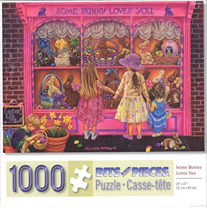 Some Bunny Loves You By Tricia Reilly-Matthews 1000 Piece Puzzle
