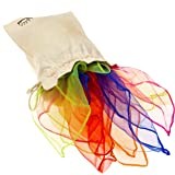 EarlyWorld Play Silks 7 Color Set of Large Cloths For Creative Childhood Play