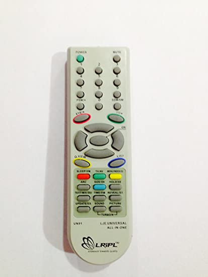 TUSCAN UNIVERSAL REMOTE FOR LG TV(NOT COMPATIBLE FOR LED AND LCD)
