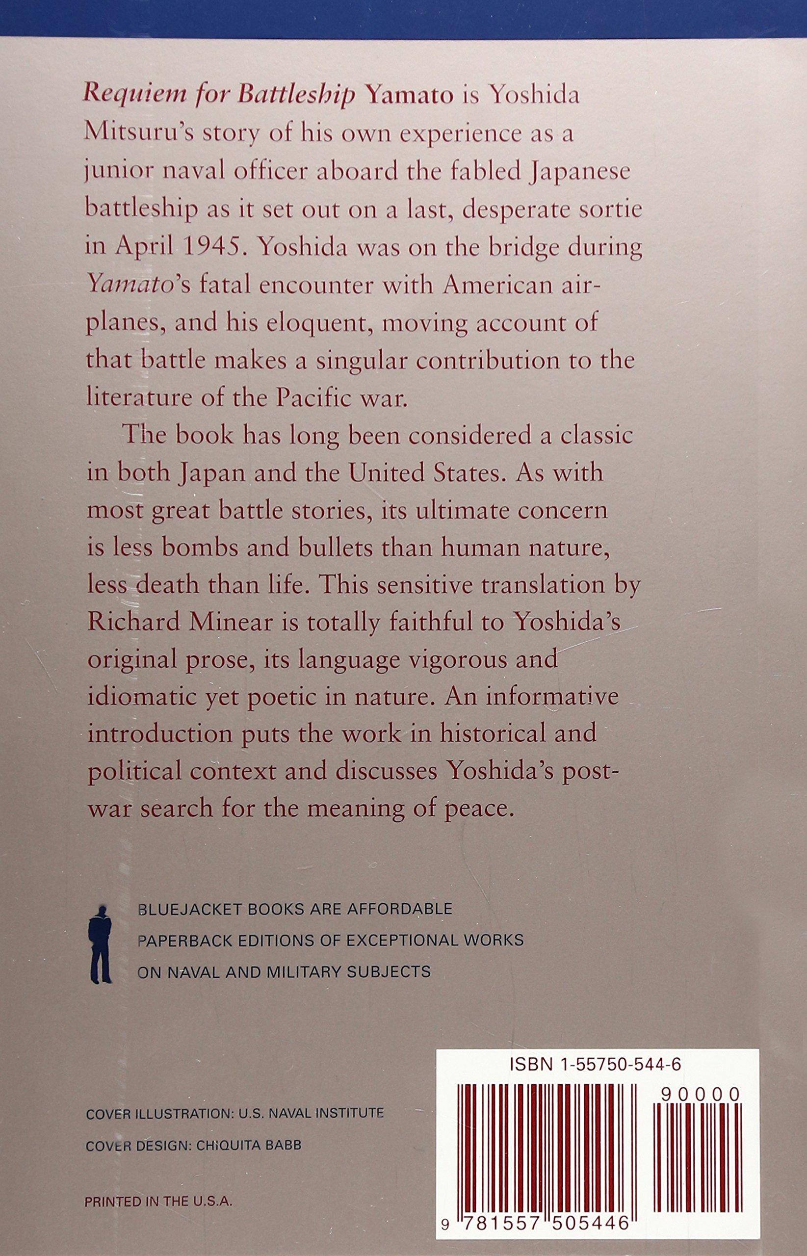 Requiem for Battleship Yamato (Bluejacket Books): Yoshida Mitsuru ...