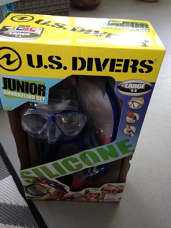 US Divers Junior Snorkeling Set Silicone