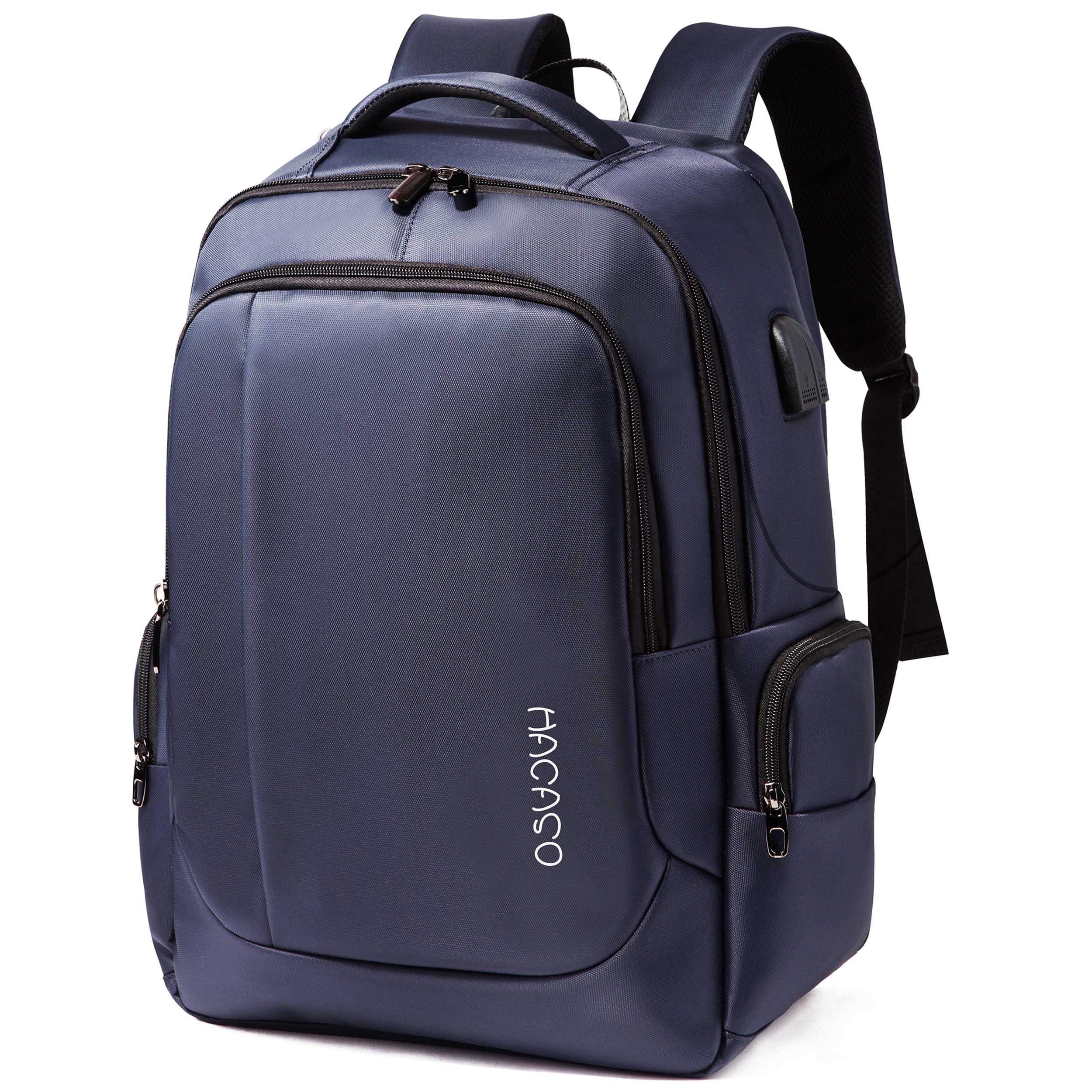 b8da6e1136 Hacaso リュック バックパック ビジネスリュック リュックザック 大容量35L USB ポート搭載 防水 軽量
