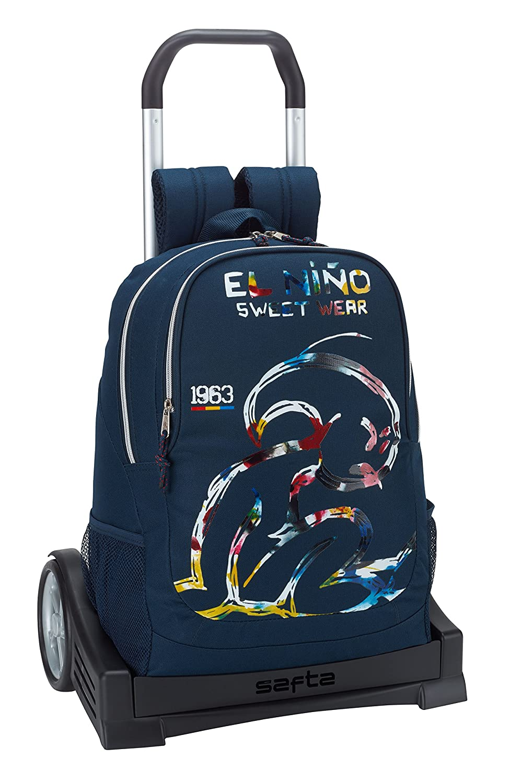 ElNiño「スプラッシュ」エルゴノミックバックパックwith Safta Evolution Trolley   B0795QG3Z9