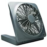 "Amazon Price History for:O2COOL NEW 10"" Battery Operated Fan with Adapter, Graphite"