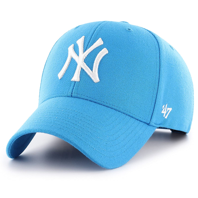 3531fd2b29f  47 Brand New York Yankees MVP Cap - Glacier Blue  Amazon.co.uk  Clothing