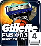 Gillette Fusion5 ProGlide Razor Blades, 4 Refills