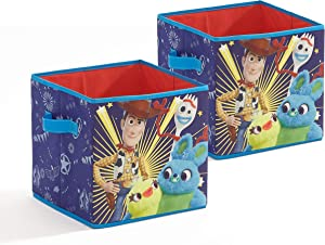 Disney Toy Story 4 2 Pack Storage Cubes