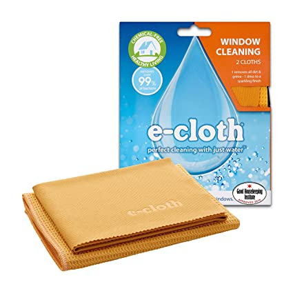 4fb13c85c672 e-cloth Window Cleaning - 2 cloths  Amazon.co.uk  Kitchen   Home