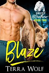 Blaze (BBW Paranormal Shapeshifter Romance) (The Grizzly Brothers Book 2) Kindle Edition