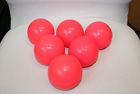 Cricket rosa bolas de viento Windball – Pelota duro práctica ...