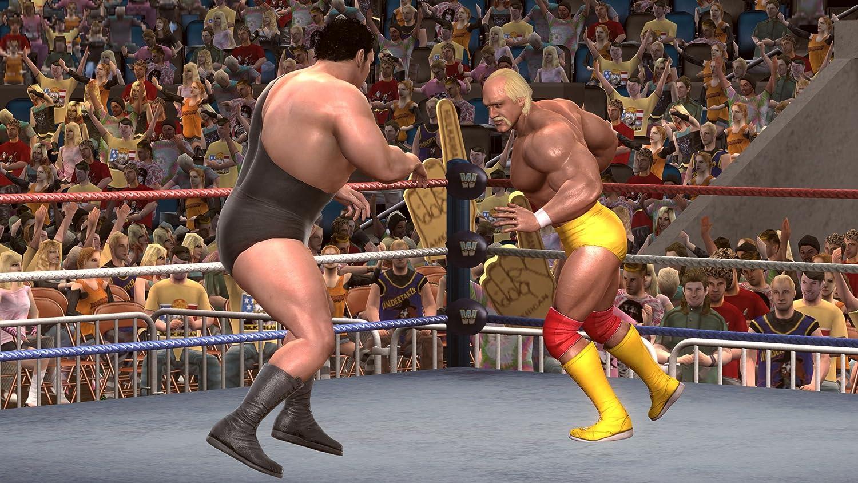 Amazon Com Wwe Legends Of Wrestlemania Video Games