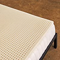 Pure Green 100% Natural Latex Mattress Topper - Soft