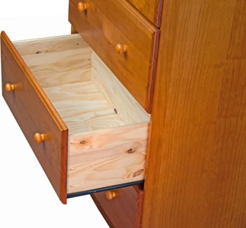 100 Solid Wood 4-Super Jumbo Drawer Chest