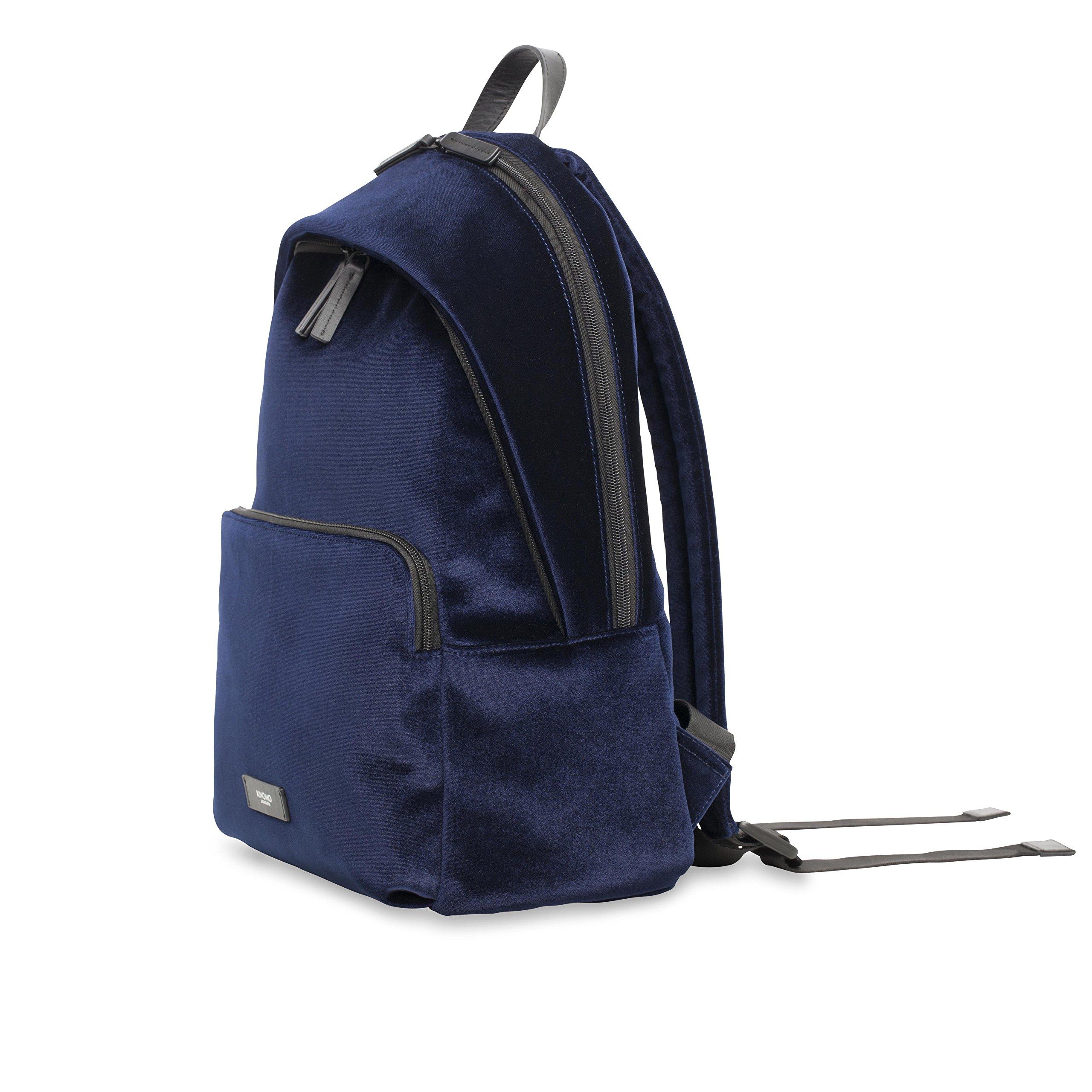 KNOMO Bathurst Velvet Backpack - Navy