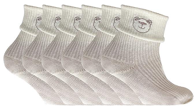 6 pares bebé niño niña algodon calcetines para oso de peluche (14 eur (0