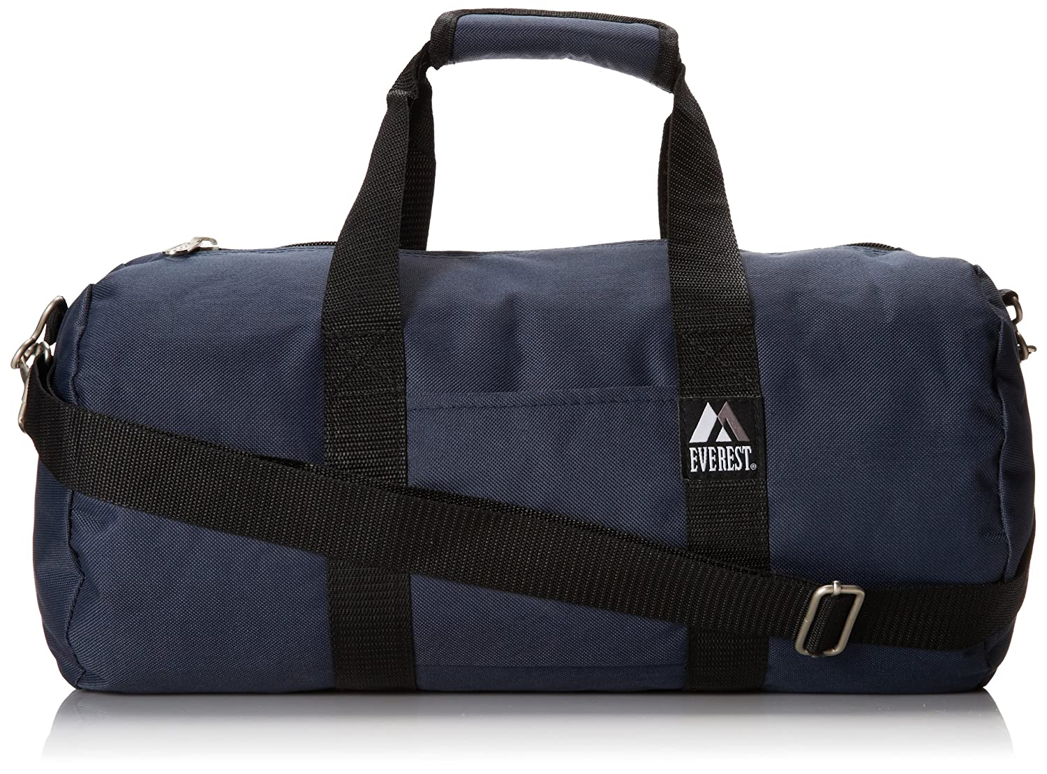 Everest 16-Inch Round Duffel, Black, One Size 16P-BK