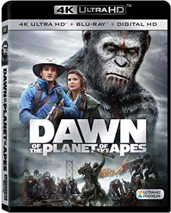 Amazon com: Dawn Of The Planet Of The Apes [Blu-ray]: Dawn