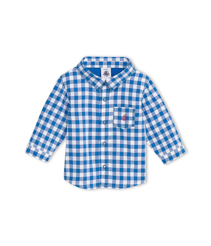 Petit Bateau Baby-Jungen Hemd Chemise ml