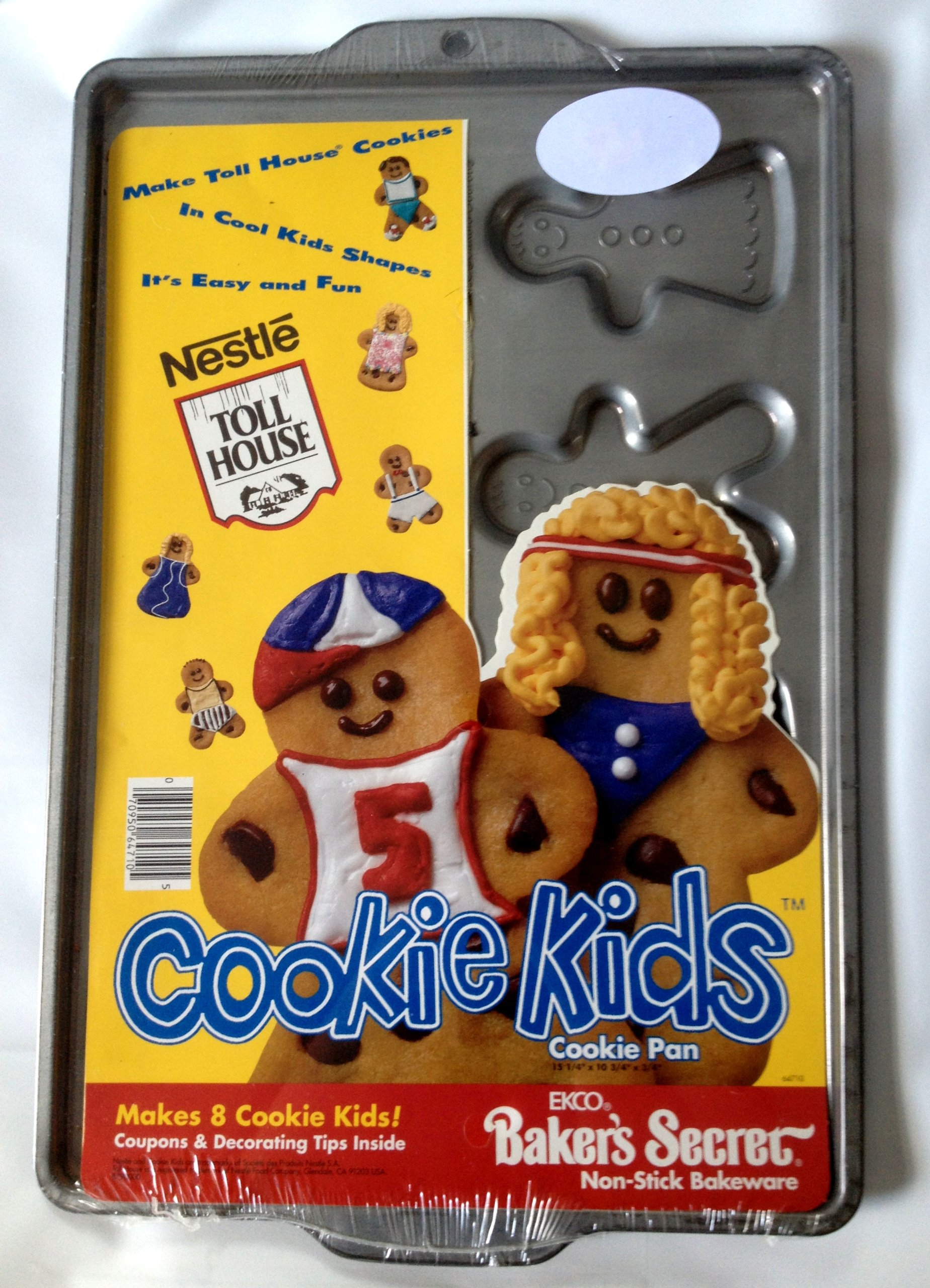 Nestle Toll House Cookie Kids Non-stick Cookie Pan 15 1/4 X10 3/4 3/4