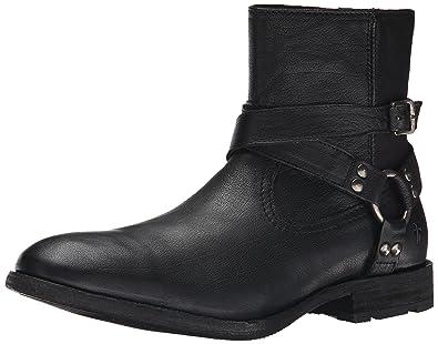 FRYE Men's Ethan Harness Boot, Black, ...