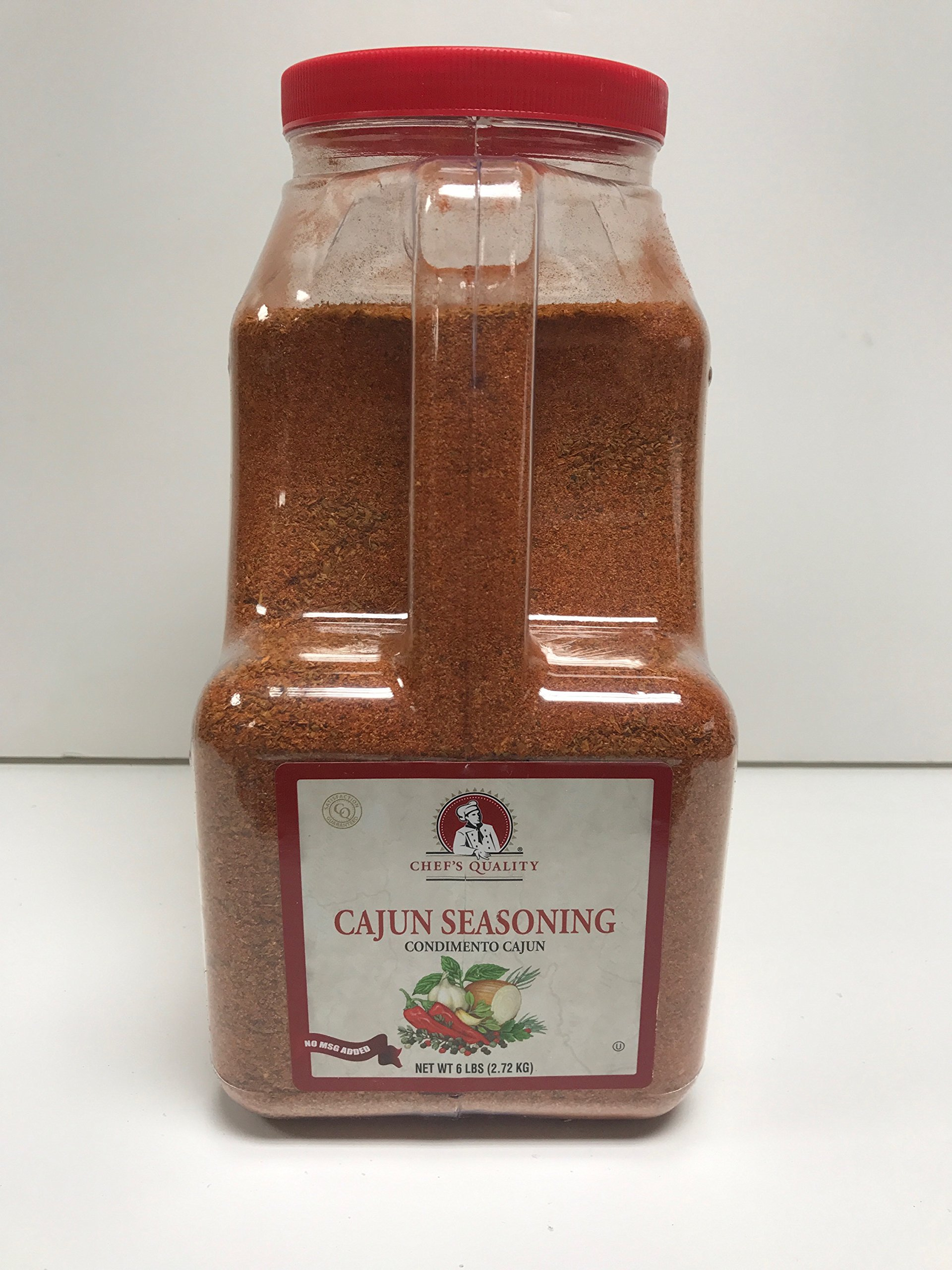 Chefs Quality Cajun Seasoning 6 LB