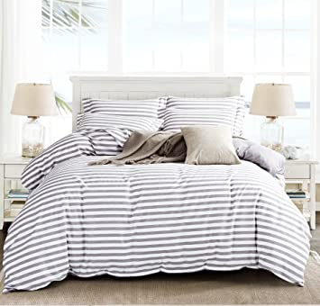 amazon contempo just striped uk single covers grey co cover set dp duvet