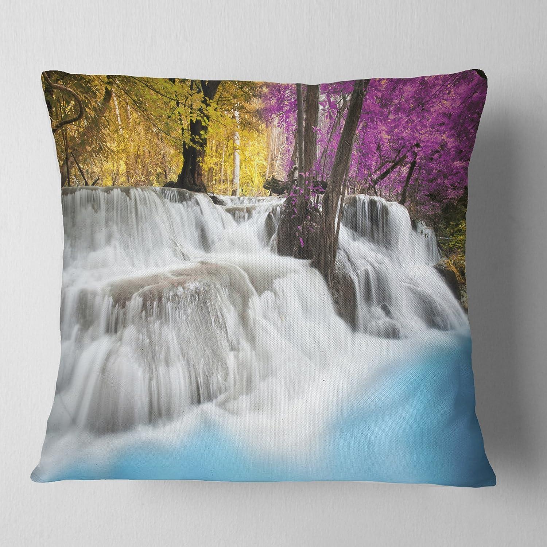 40 X 30 40 by 30-Inch Kess InHouse Karina Edde Hibiscus Purple Abstract Fleece Throw Blanket