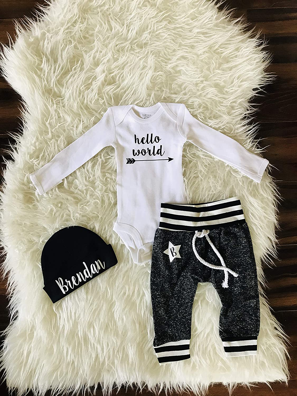 e6b5e7a2b Amazon.com: Baby Boy Coming Home Outfit. Newborn Boy Coming Home Outfit. Boy  Coming Home Outfit. Coming Home Outfit Boy. Little Brother.: Handmade
