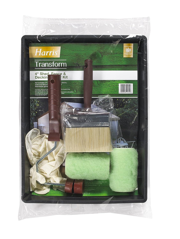 Harris 10602 (transformar cobertizo/Valla y terrazas Roller Kit - Verde: Amazon.es: Bricolaje y herramientas