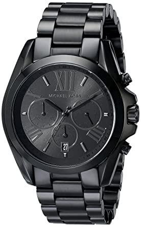 bf26824e7827 Amazon.com  Michael Kors Men s Bradshaw Black Watch MK5550  Michael ...