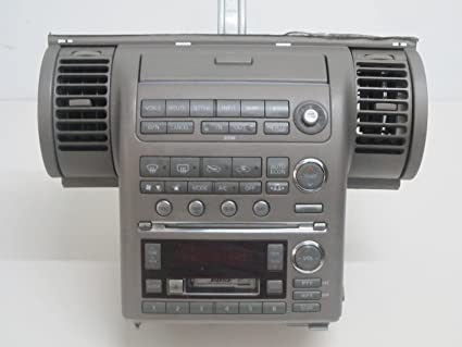 Amazon.com: 03 04 05 INFINITI G35 6 CD PLAYER NAVIGATION ... on