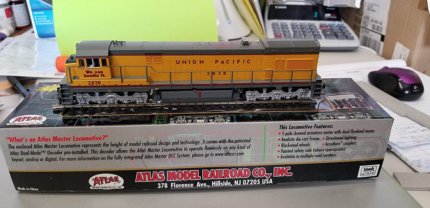 Amazon.com: Atlas # 7318 GE u30 °C locomotora Norfolk ...
