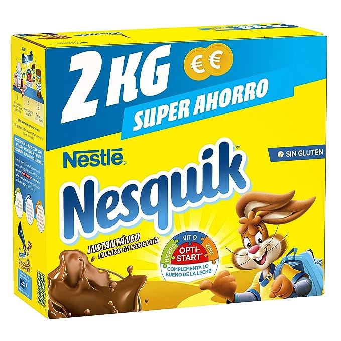 Nestlé Nesquik Cacao Soluble Instantáneo - Estuche 4x2 kg