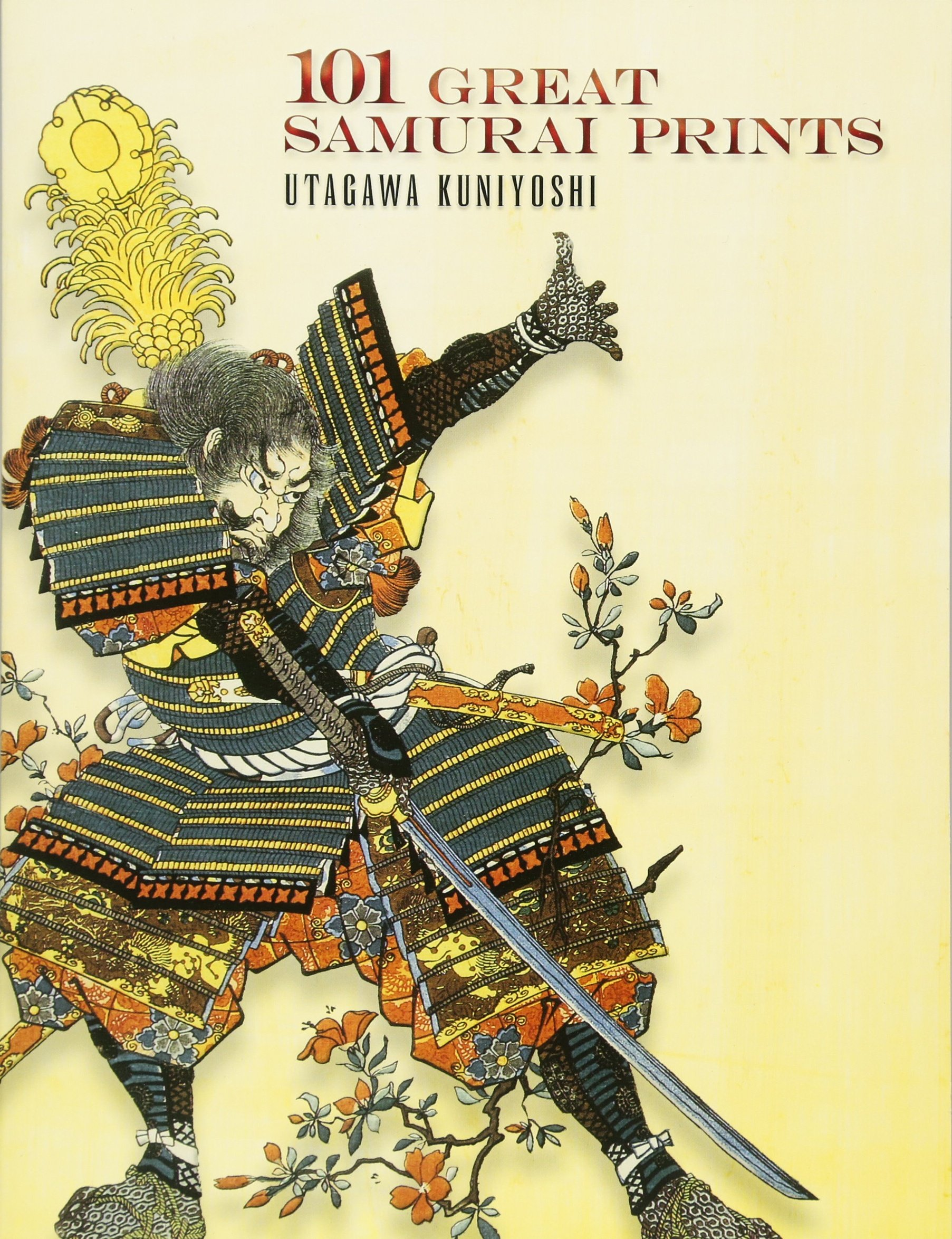 Japanese Woodblock Print 3  Life of a Samurai  by Utagawa Kuniyoshi