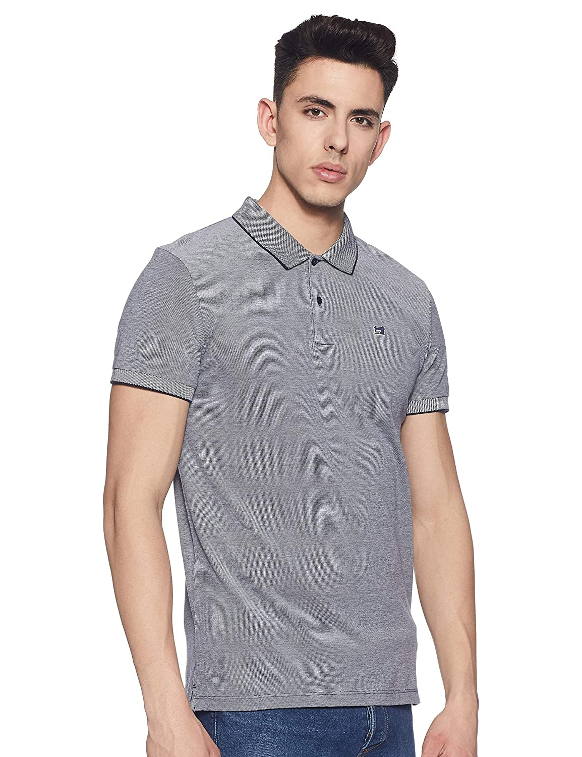 Scotch & Soda Classic Two-Tone Polo In Clean Pique Quality with ...