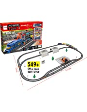 Electric Train Set for Kids Express Toy with Tracks