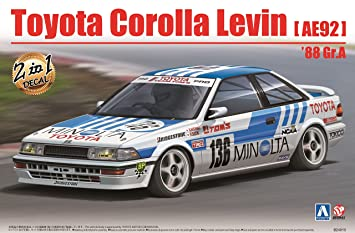 Levin Taille Ae92 1988 Toyota Corolla Model Beemax Kit A 124 rBxhdstQC