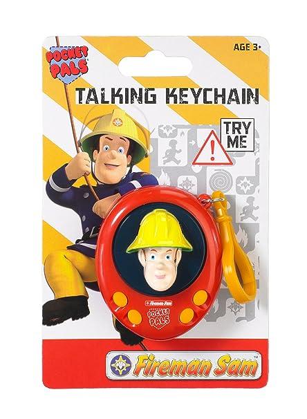 Amazon.com: Sam el bombero bolsillo Pals Talking llavero ...
