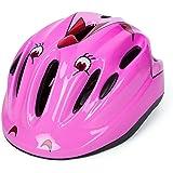Babimax Casque Enfant de Securite Casque Vélo Helmet Casque Roller Enfant pour Sport Cycliste Cyclisme Bicyclette Casque Scooter Léger Garçon Fille 57 à 61 cm Multicolore pour 2 à 15 ans