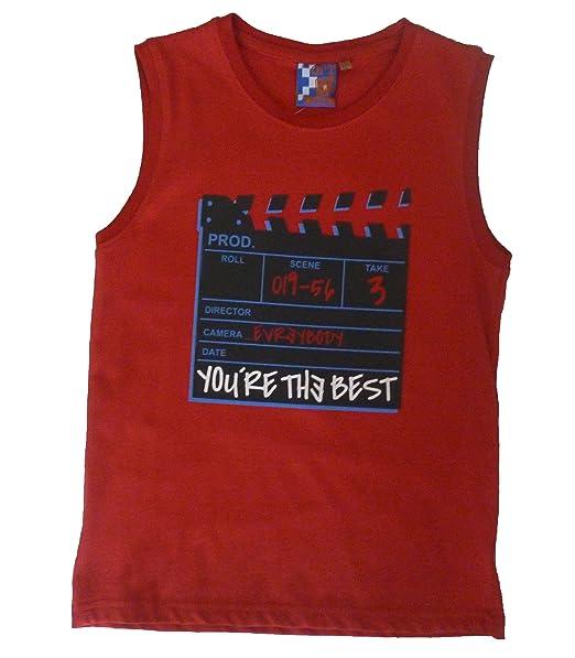 8608c83a9 losan Opt Junior - Camisetas de Tirantes - para niño 8 años  Amazon.es  Ropa  y accesorios