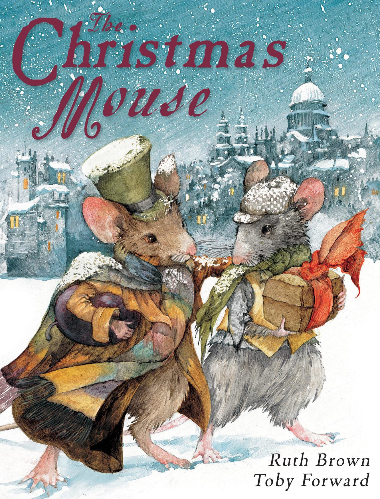 Christmas Mouse.The Christmas Mouse Amazon Co Uk Toby Forward Ruth Brown
