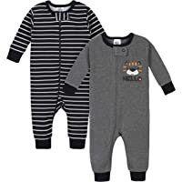 2-Pack Gerber Baby Boys Thermal Footless Union Suit Pajamas (Hello)