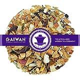 """N° 1266: Tè alla frutta in foglie""""Brezza di Agrumi"""" - 1 kg - GAIWAN GERMANY - tè in foglie, mela, ananas, papaia, ibisco, citronella, girasole, malva, melissa, 1000 g"""